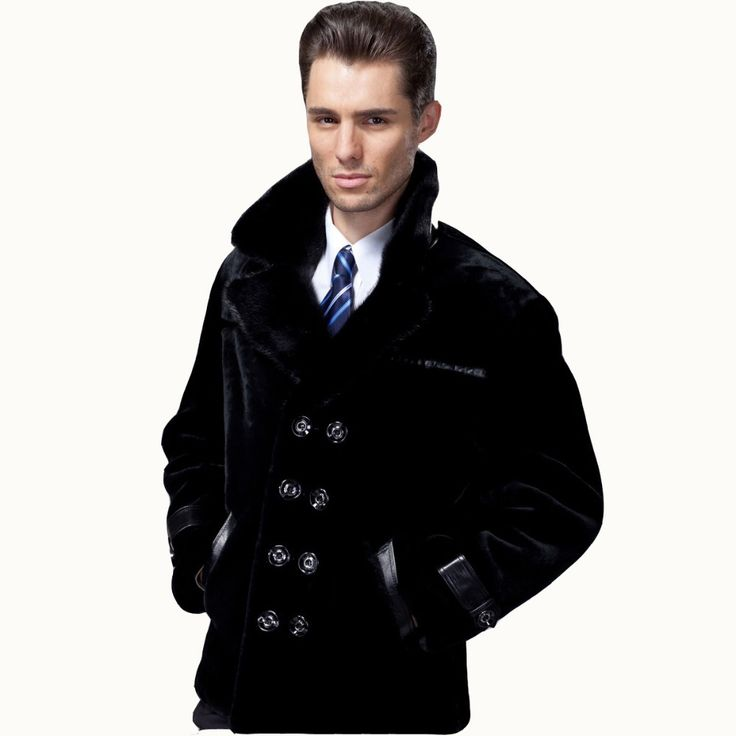 2017 Guaranteed Sheepskin Fur Coat Men Genuine 3 Styles Mink Suit Collar Natural Fur Clothing Black Sheepskin Mens Fur  Jackets //Price: $692.96 & FREE Shipping //     #hashtag1