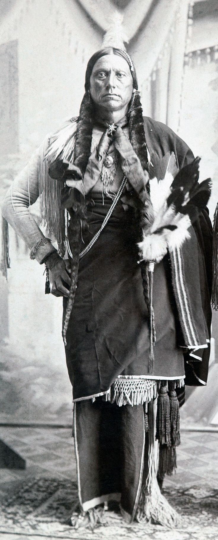 He was the son of Comanche Chief Peta Nocona and Cynthia Ann Parker who had been kidnapped at the age of 9. Description from pinterest.com. I searched for this on bing.com/images