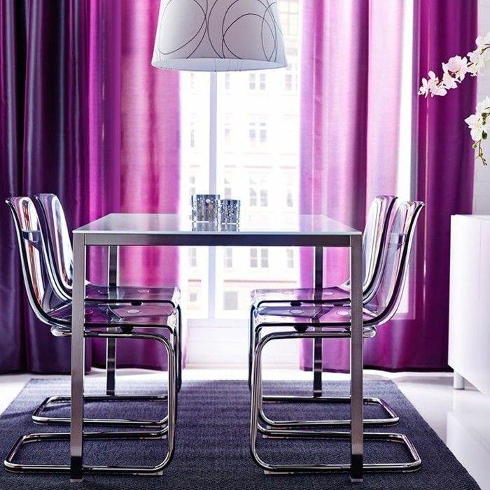 17 meilleures id es propos de rideaux pour salon sur for Rideaux pour salle a manger