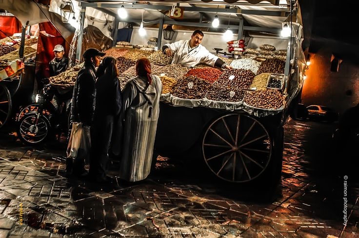 Morocco. Marrakech. Medina. Jema el Fnaa