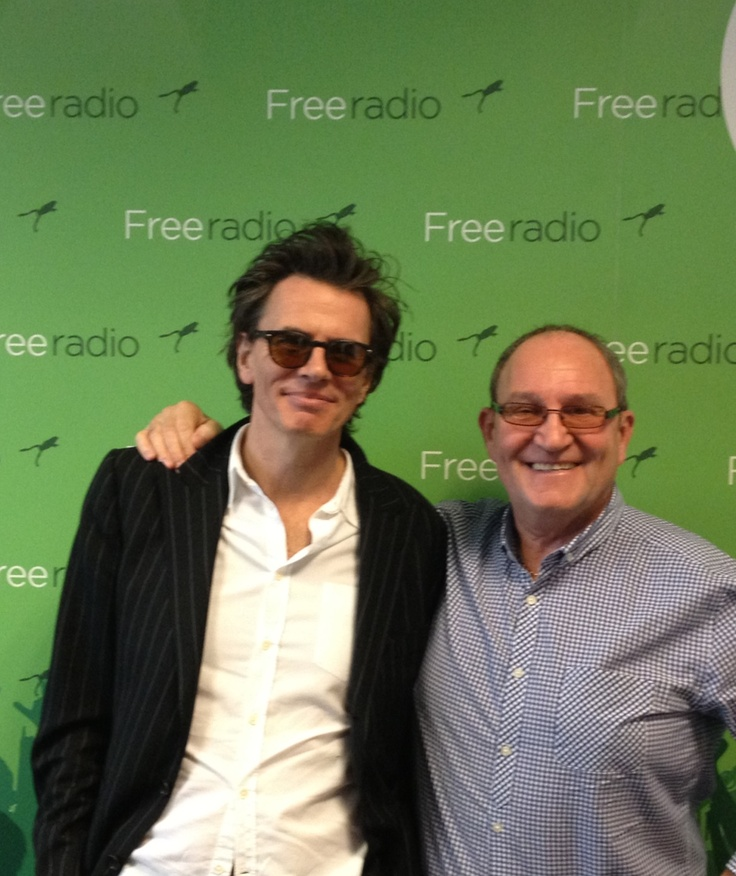 John with Tom Ross from Free Radio