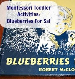 Montessori activities to incorporate with BFIAR Blueberries for Sal book