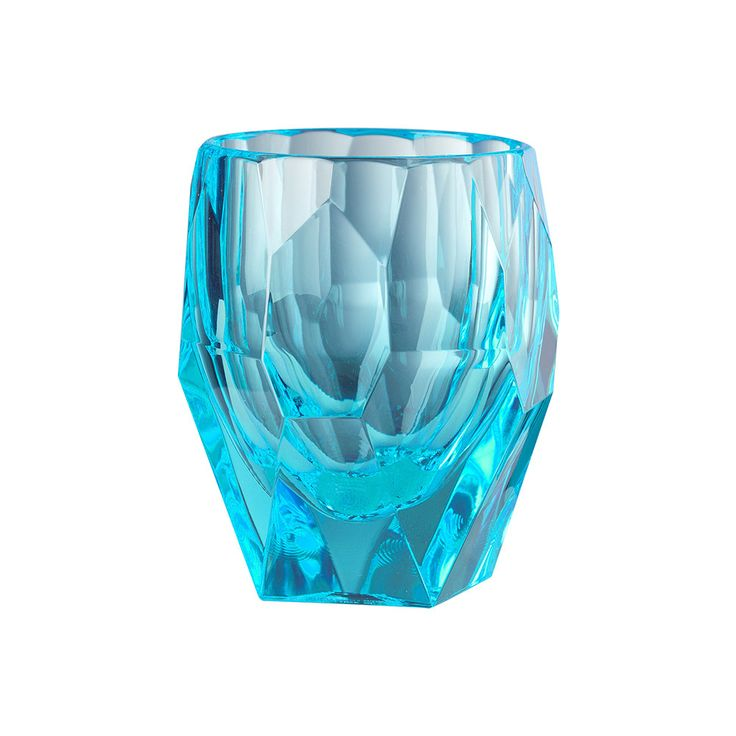 Discover the Mario Luca Giusti Super Milly Large Acrylic Tumbler - Turquoise at Amara