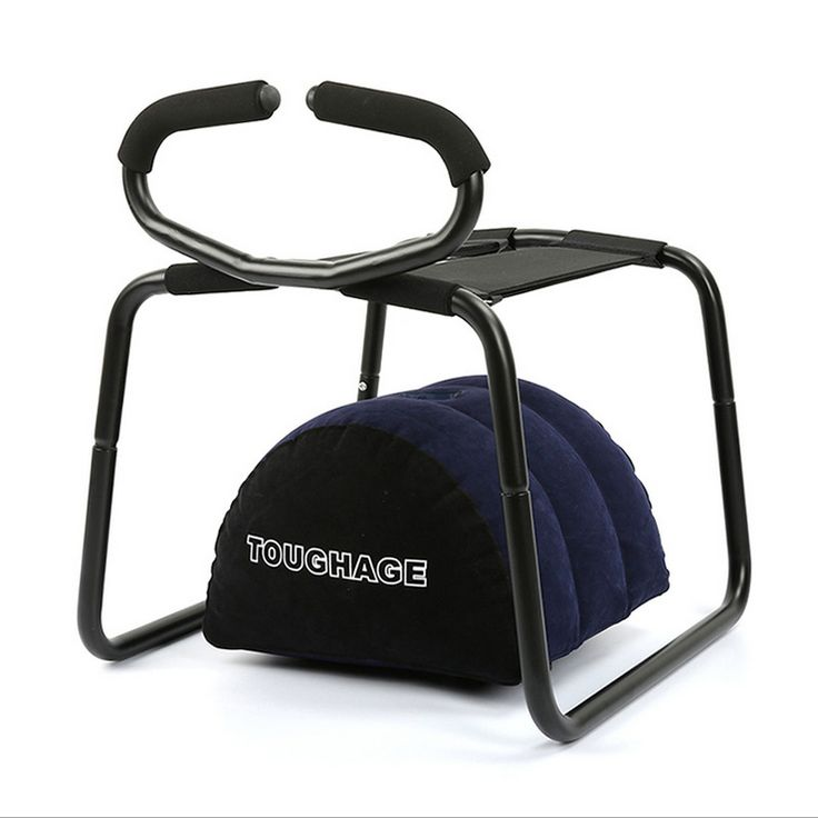 TOUGHAGE Weightless Sex Chair Stool with Inflatable Pillow and Handrail Sex Toys for Couples(China (Mainland))