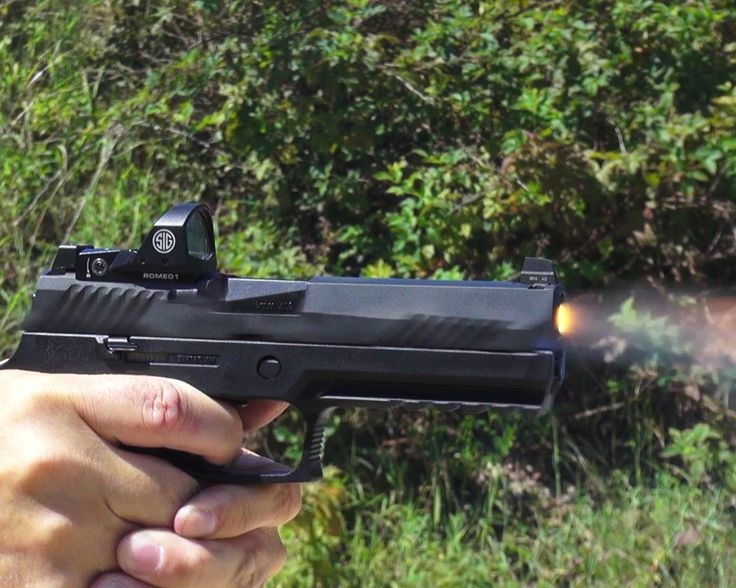 Sig's New P320RX Competition & Defense Pistol—Full Review - GunsAmerica Digest
