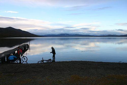 Lake Yehuin (Tierra del Fuego, Argentina)