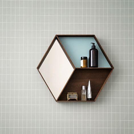 Spiegel - Eiche - Dänisch Design - Einmalig - Hexagon Fern Living