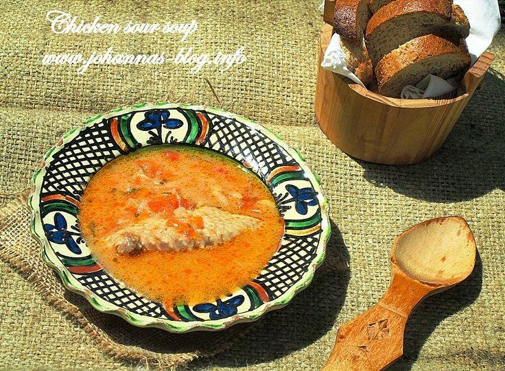 Johanna's recipes: Chicken sour soup