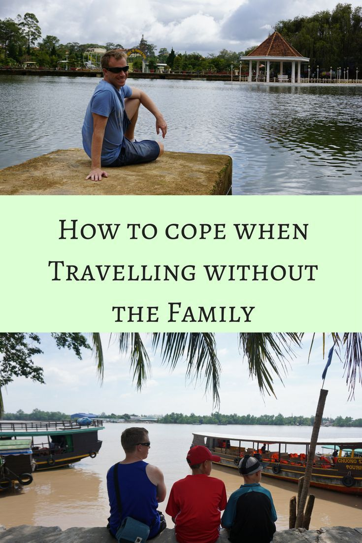 Travelling without the family and having a little free time, is not always easy. Here is a few tips on coping when travelling without the family.