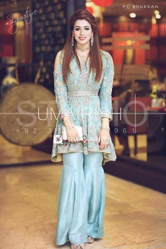 Latest pakistani dress | moda | Trajes, Moda
