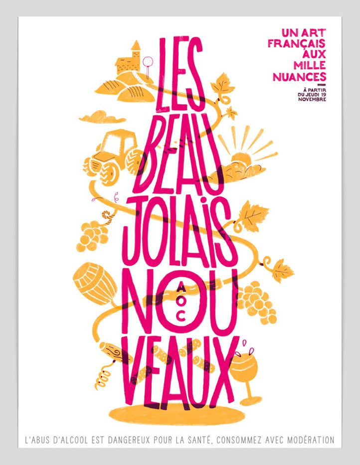 Beaujolais Nouveau on Behance