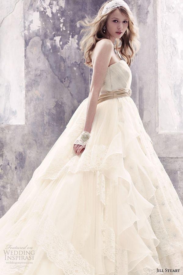 Jill Stuart Wedding Dresses — Eleventh Bridal Collection   Wedding Inspirasi