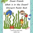 ocean, water, fish, animals, emergent reader, reading,     This adorable Ocean themed emergent reader will keep students engaged as they read the sen...