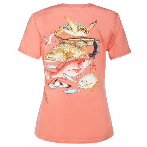 Guy Harvey Women's Gulf Life T-shirt. $17.99 Womens XL. Mens L. -Madison