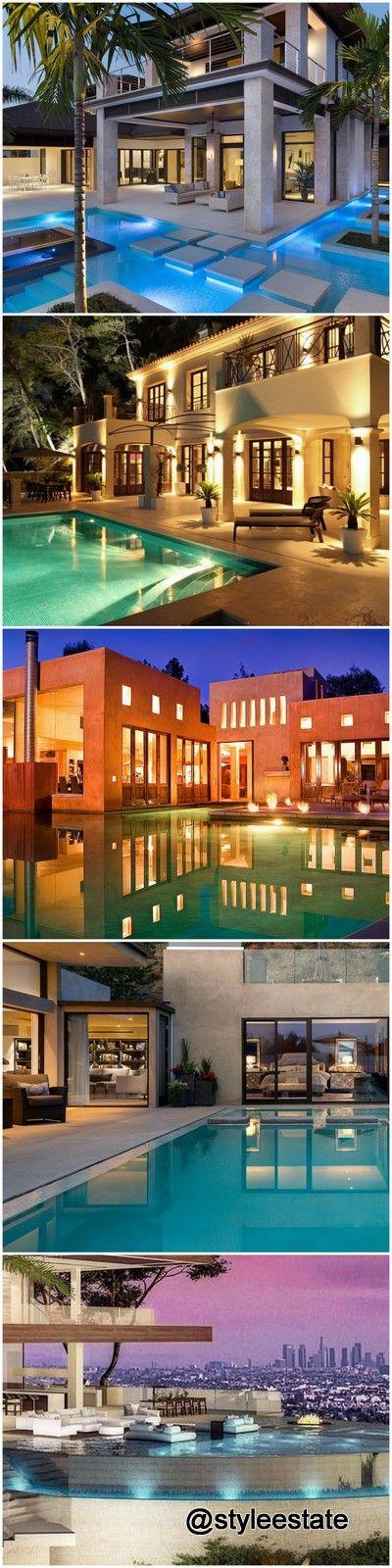 #luxury #swimmingpools #mansions