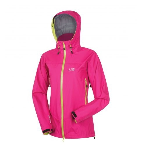 Lady Yadi Gore-Tex jacket  Women's Millet protective jacket for Alpinism, Mountain & Trek.  Protective jacket in lined GORE-TEX® 2L fabric, waterproof and breathable, all seams sealed. For year-round alpine hiking.