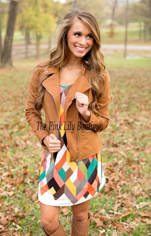 ✴DISCOUNT CODE: AMIE10 TO SAVE!!!✴ Dress and Jacket for Fall!