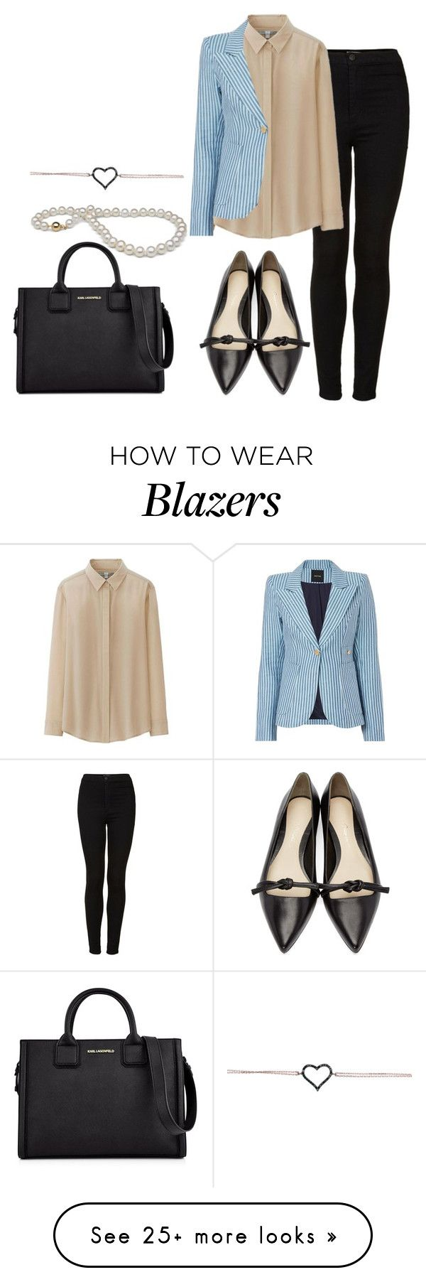 """""""Untitled #926"""" by missrose94 on Polyvore featuring Topshop, Uniqlo, Smythe, 3.1 Phillip Lim, Karl Lagerfeld and topshop"""