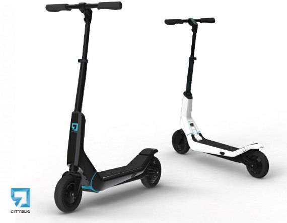 Pure design,  the all new CityBug 2 Electric Scooter is the ultimate urban innovation and is the only electric scooter you will ever need to know about.