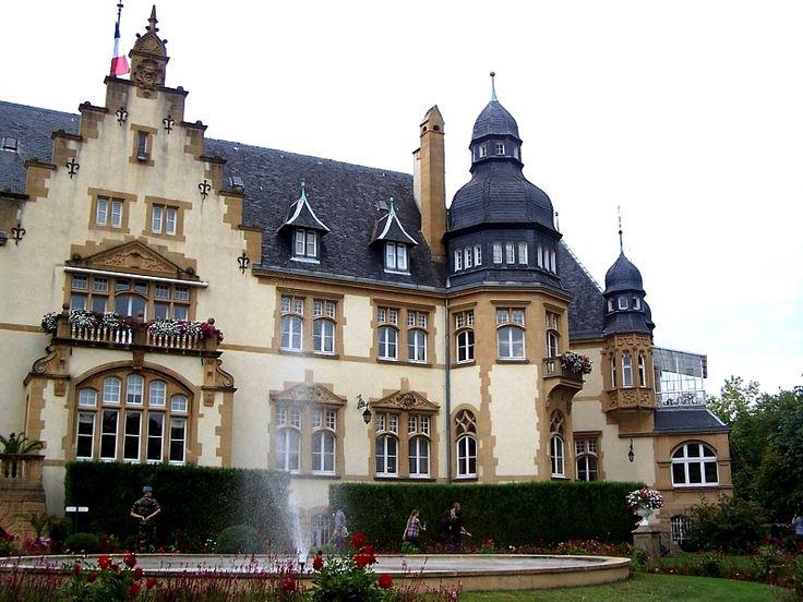 Palais du Gouverneur. Metz . Lorraine