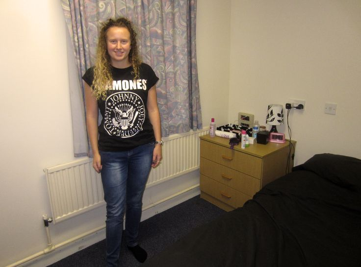 """The Accommodation team were really helpful on move in day - even with my big load of suitcases!"" Heather"