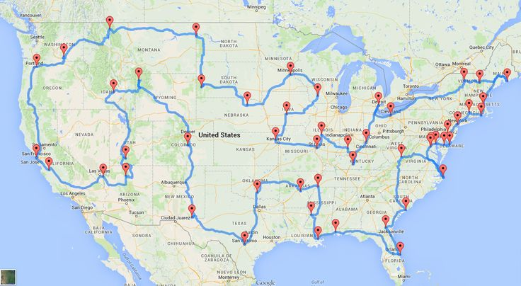 Best 25 American road trips ideas on Pinterest Usa road map