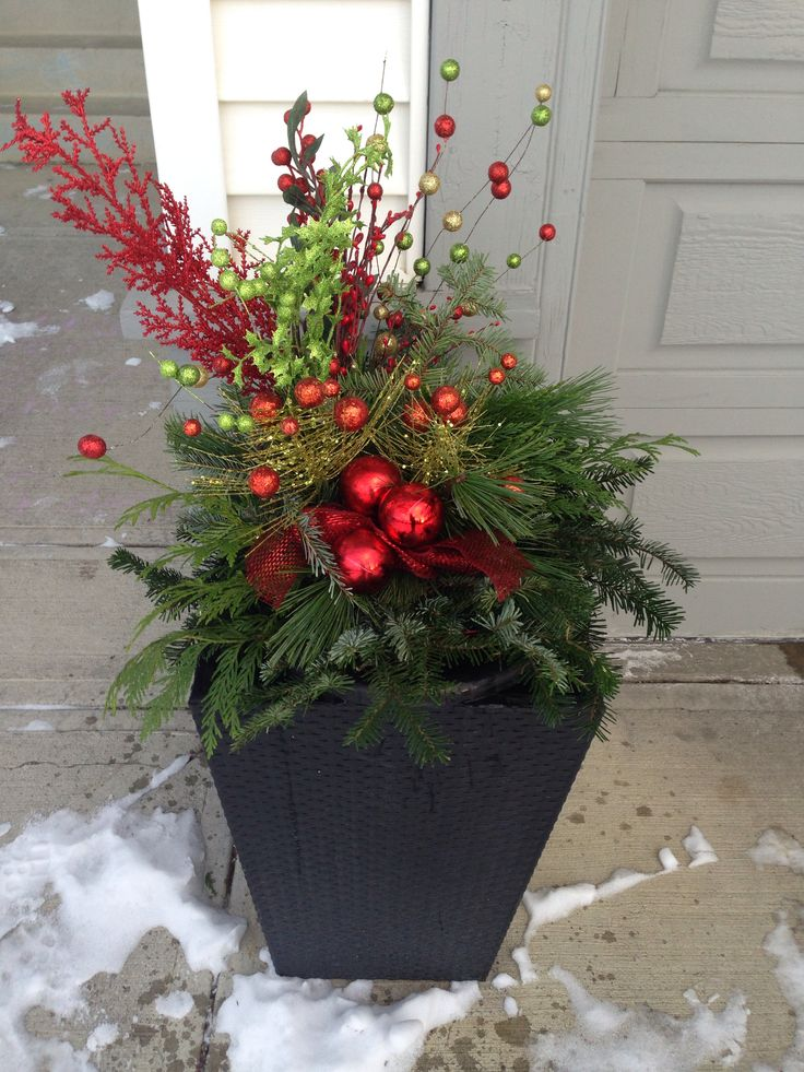 Christmas Planter 2014 Greenery Was A Hanging P*T That I 400 x 300