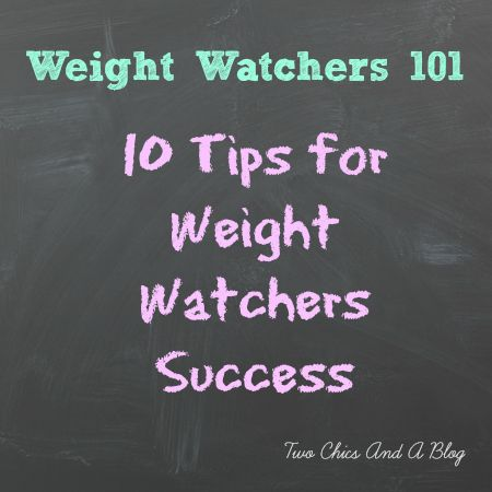 Tips for Weight Watchers Success #WeightWatchers #Weightloss