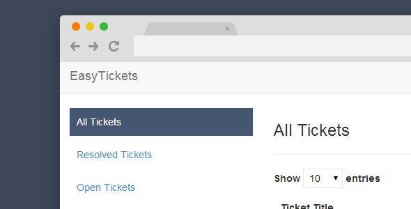 Best Premium Support Ticket PHP Script