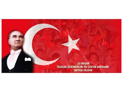"""""""Küçük hanımlar, küçük beyler!  Sizler hepiniz geleceğin bir gülü, yıldızı ve ikbal ışığısınız.  Memleketi asıl ışığa boğacak olan sizsiniz.  Kendinizin ne kadar önemli, değerli olduğunuzu düşünerek ona göre çalışınız.  Sizlerden çok şey bekliyoruz."""" Mustafa Kemal Atatürk  #23Nisan #UlusalEgemenlikveÇocukBayramı #ekolej Kutlu Olsun. www.ekolej.net"""