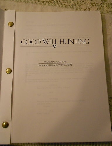 GOOD WILL HUNTING Screenplay by Ben Affeck and Matt Damon