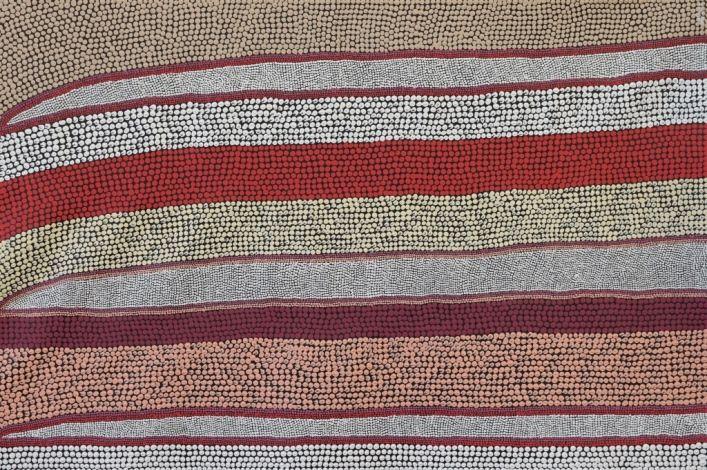 Land Lines, Amanda Westley 89x60 cm   #AboriginalArt