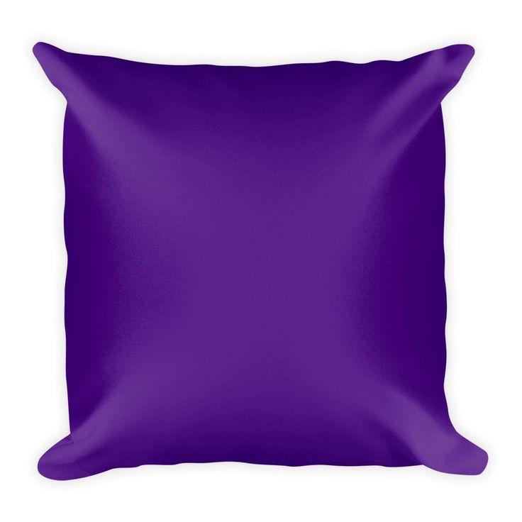 Indigo Square Pillow