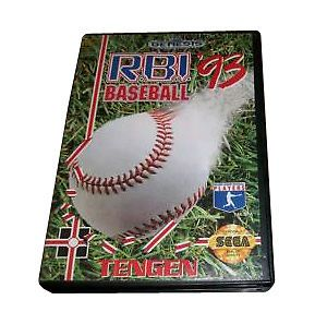 R.B.I. Baseball '93 (Genesis, 1993) Sega Video Game