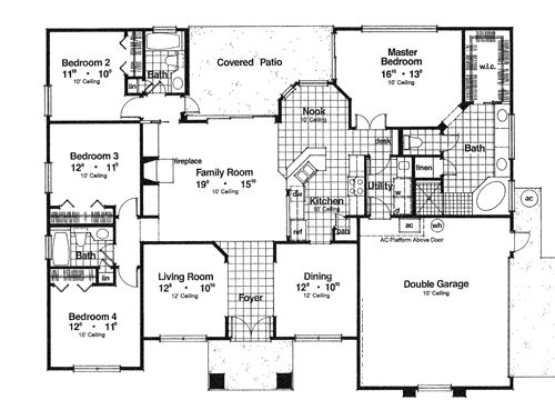 I love this open plan