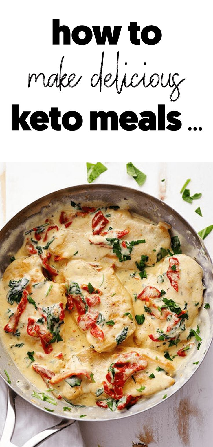 How to really make delicious keto meals
