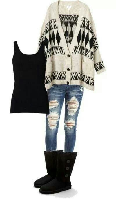 cute outfits for winter 2014 02