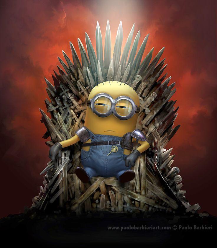 Minion & Games of Thrones tribute - Paolo Barbieri Art
