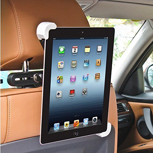 Bestek Car Back Seat Headrest Mount Holder with 360 Degree ...