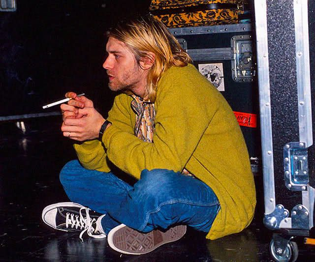 kurt cobain short hair - Google Search