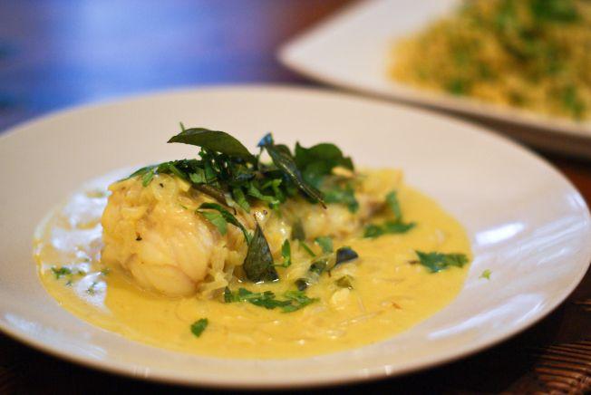Benares Inspired Monkfish Curry Recipe (Meen Molee)