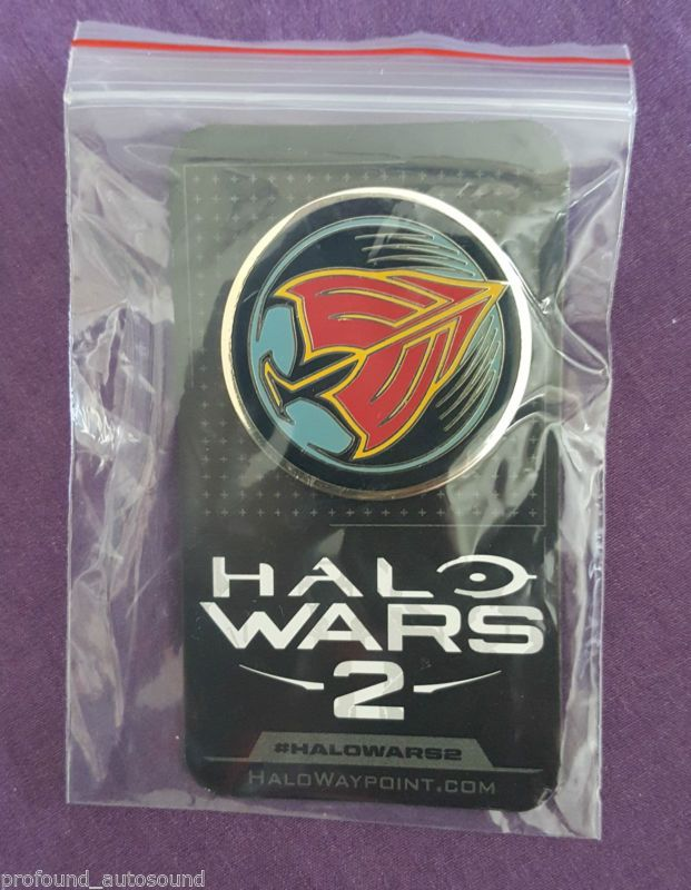 E3 2016 microsoft XBOX ONE HALO WARS 2 PIN - http://video-games.goshoppins.com/video-gaming-merchandise/e3-2016-microsoft-xbox-one-halo-wars-2-pin/