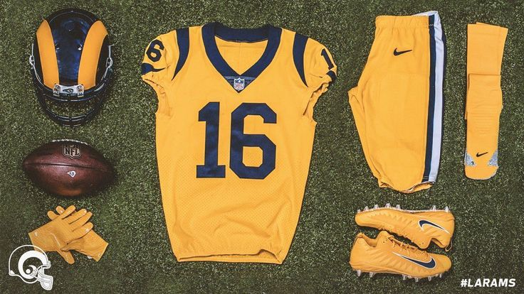 Check out the Rams' and 49ers' Color Rush unis #FansnStars