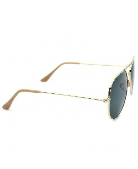 7495ac8c70164 Classic Original Iconic Metal Aviator Sunglasses - Gold Frame ...
