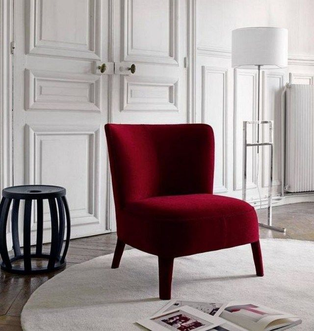 28 Cool Stylish Red Chair Ideas For Modern Impression At Home Chair Chairideas Chai Red Chair Living Room Living Room Chairs Accent Chairs For Living Room