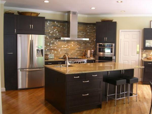 cuisine avec îlot central   plan de travail and kitchens
