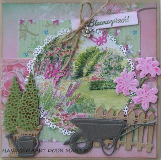 Martjeskaarten: De tuin in bloei