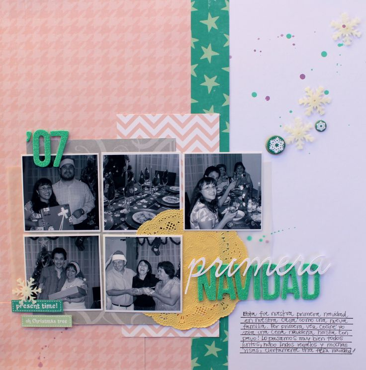 Primera Navidad - Reto Primera Quincena Diciembre FSN por Caroli