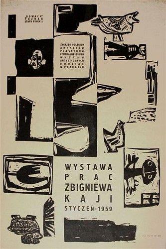 Zbigniew Kaja Zbigniew Kaja Exhibition 1959