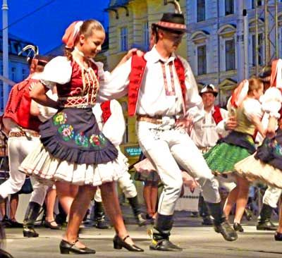 Slovak Folk Dance